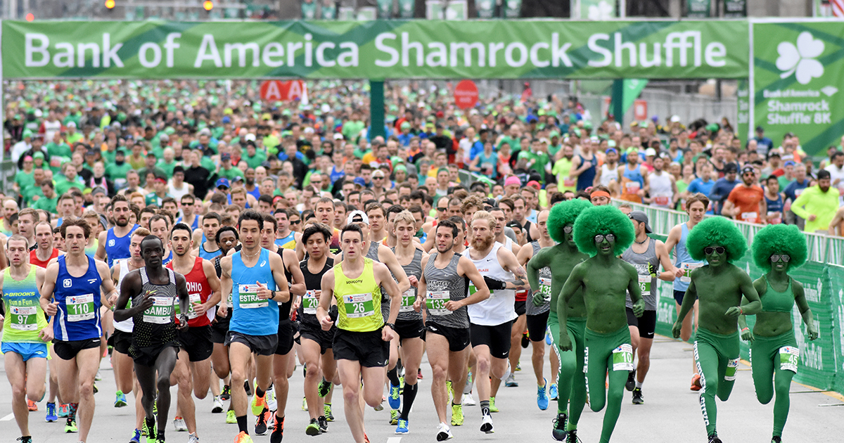 2019 St  Patrick's Day Runs in Chicago