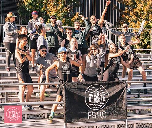 Fraser Street Run crew