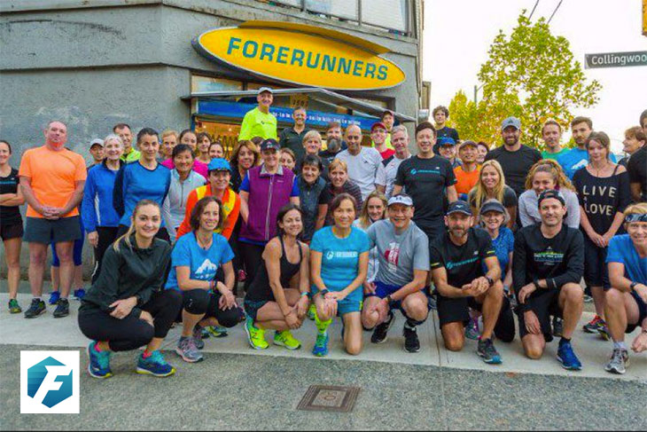 Forerunners run club