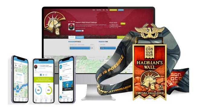 hadrian's wall virtual race