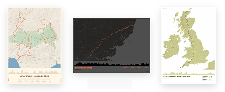 paper trails maps