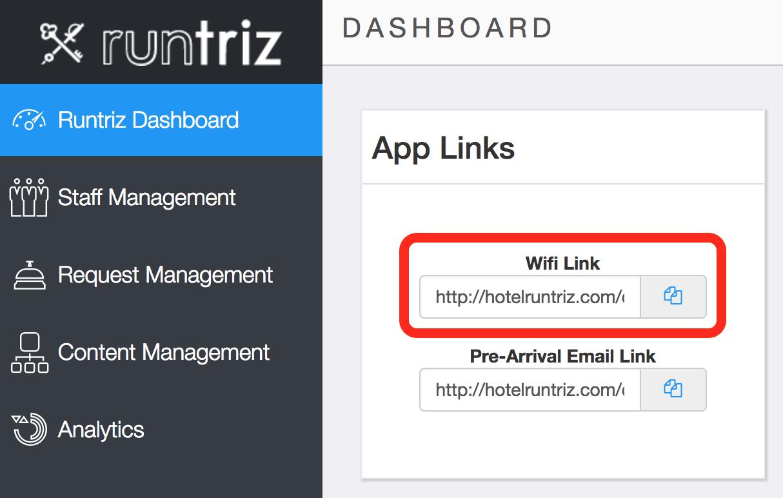 Marketing - Wifi Link