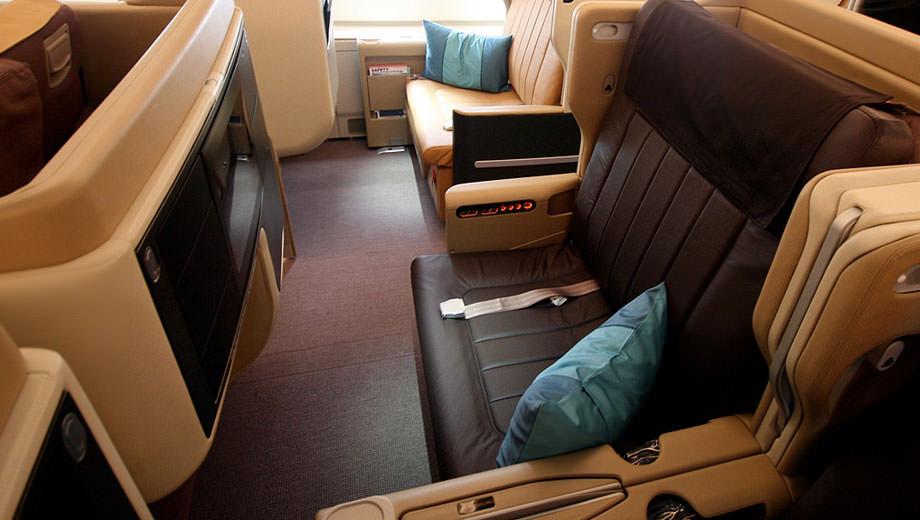 Sofa-seat - Singapore Airlines