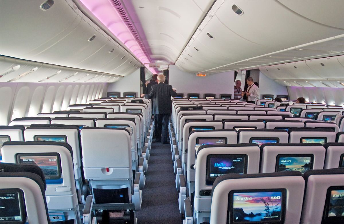 Ten abreast economy isn t an upgrade no matter how you for Interieur 747 cargo