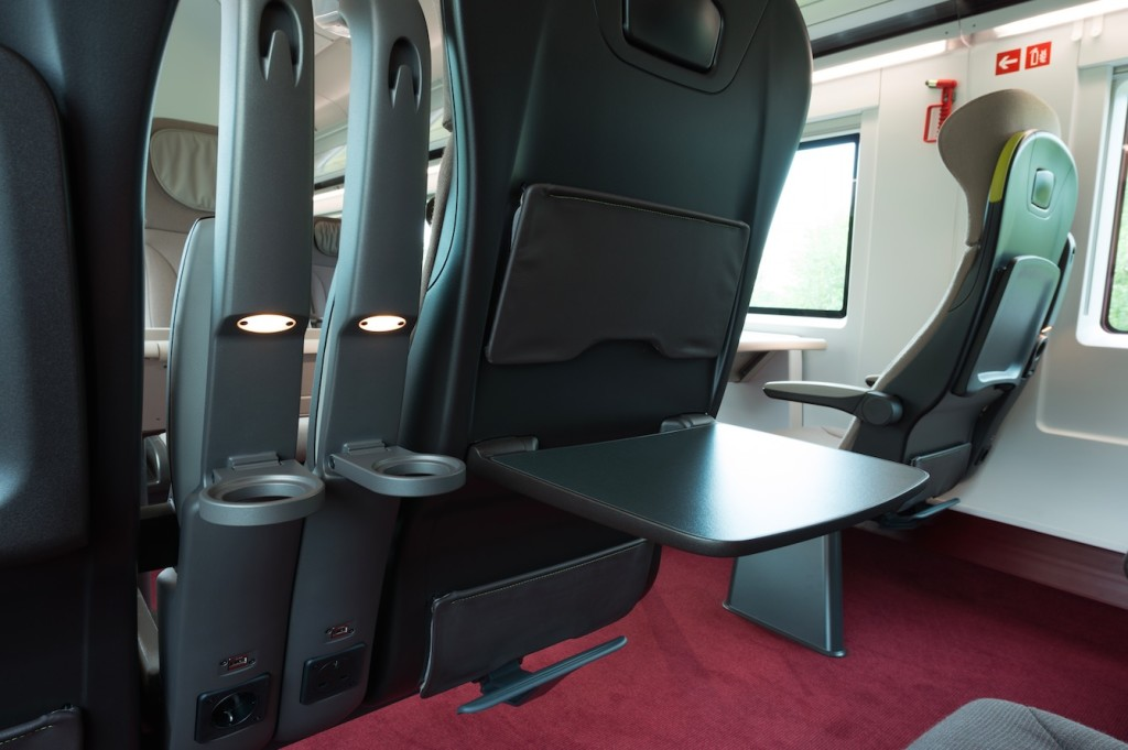 The new Standard Premier and Business Premier seats feature outlets and USB sockets