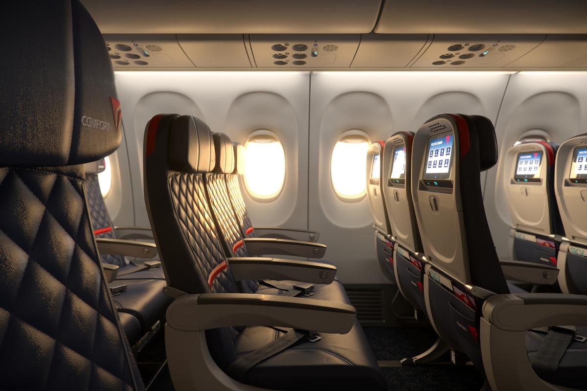 Delta comfort changes open door to higher uk apd ticket for What is the difference between delta comfort and main cabin