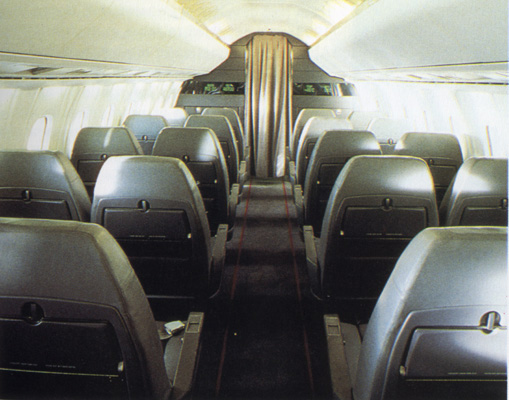 British Concorde Cabin Image: Jetliner Cabins