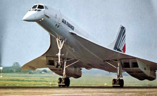 Air France Concorde Image: Jetliner Cabins