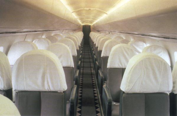 Air France Concorde Cabin Image: Jetliner Cabins