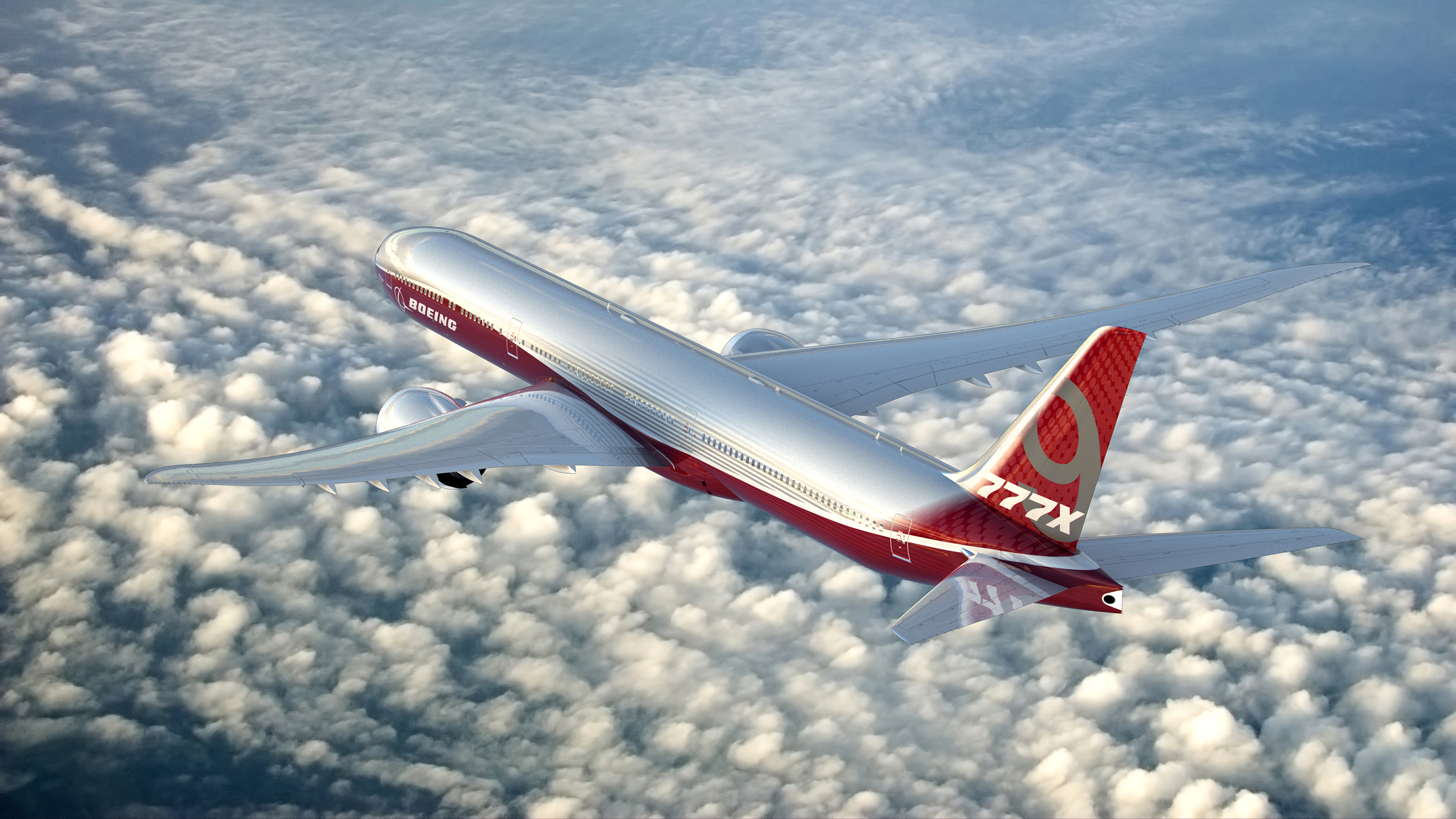 Emirates see great things with the future of Thales technology in the Boeing 777X. Image: Boeing
