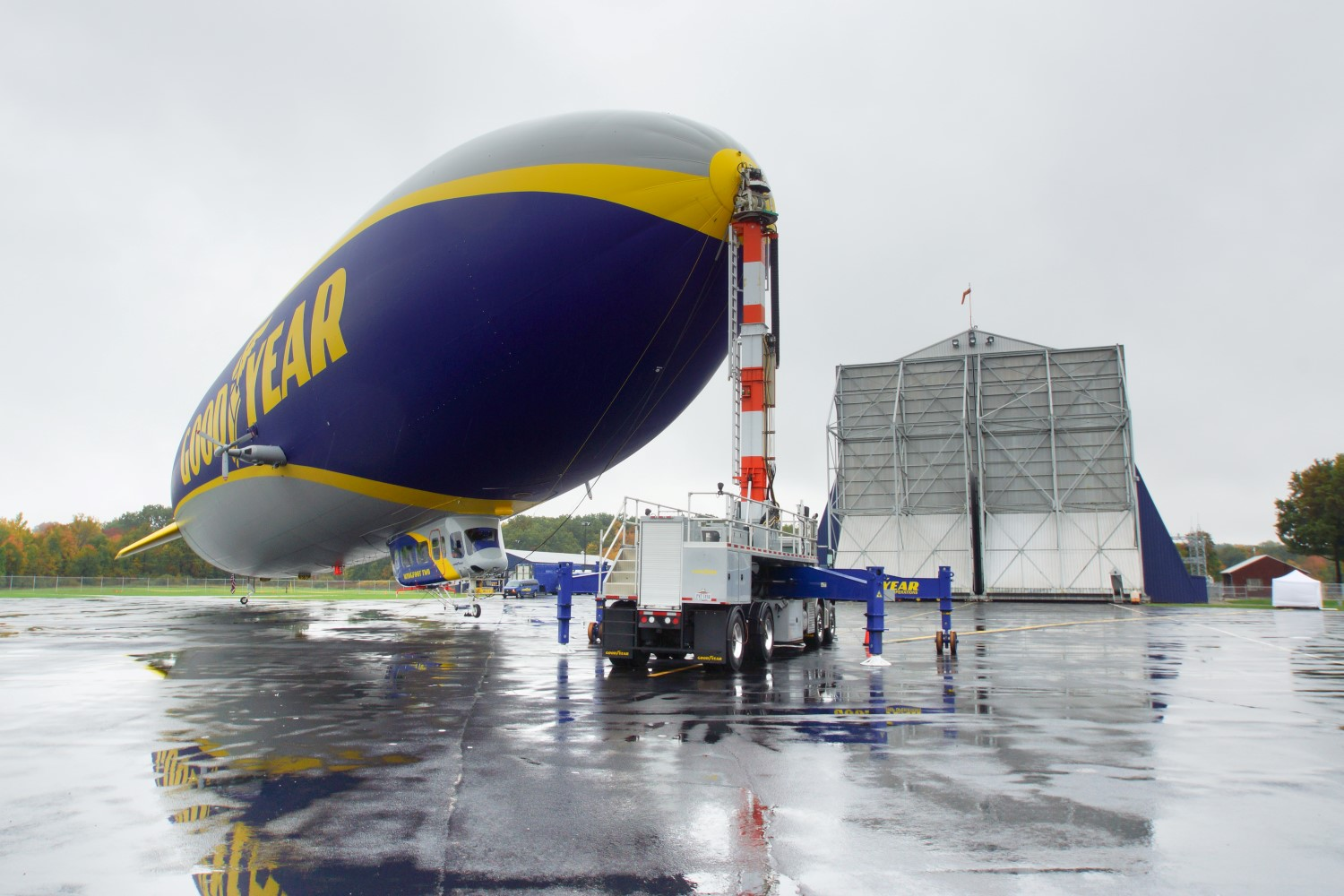 Flying with Goodyear is not like other pilot postions in avation. Image: Steven Drescher