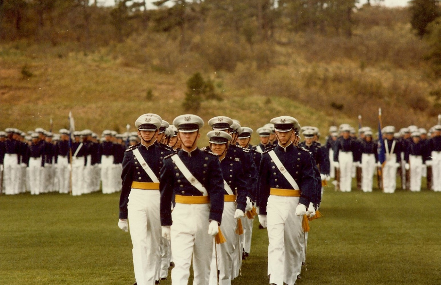 Durst was one of the first women to graduate from the US Air Force Academy. Image: Kathi Durst