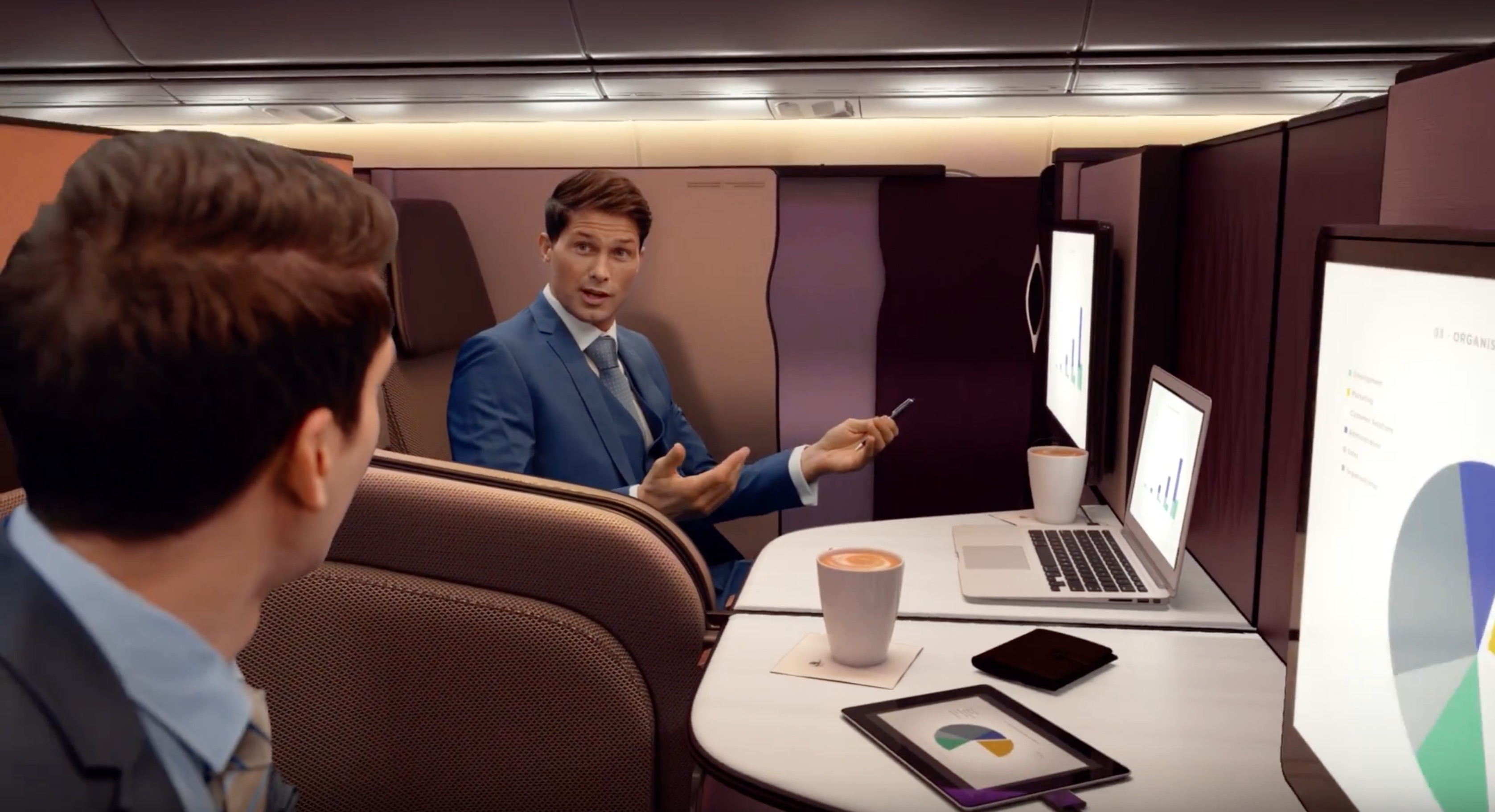 Qatar Airways' swanky new seats will revolutionize business travel