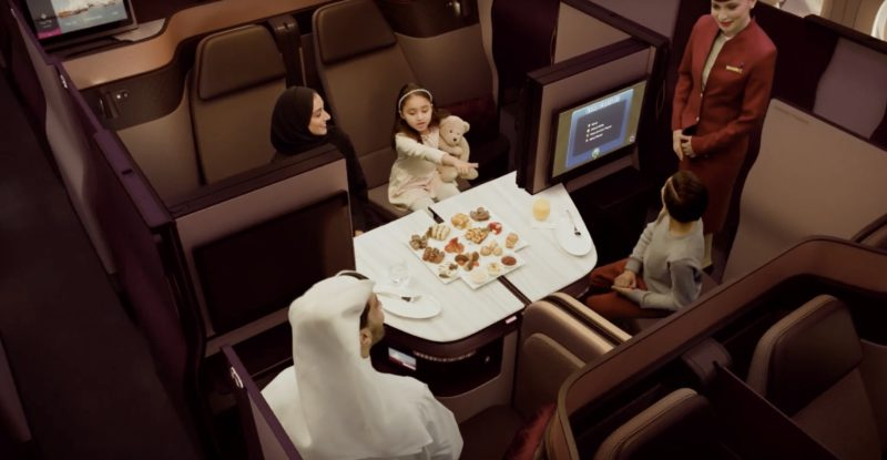 Qatar Airways unveils NEW revolutionary seat for business class passengers