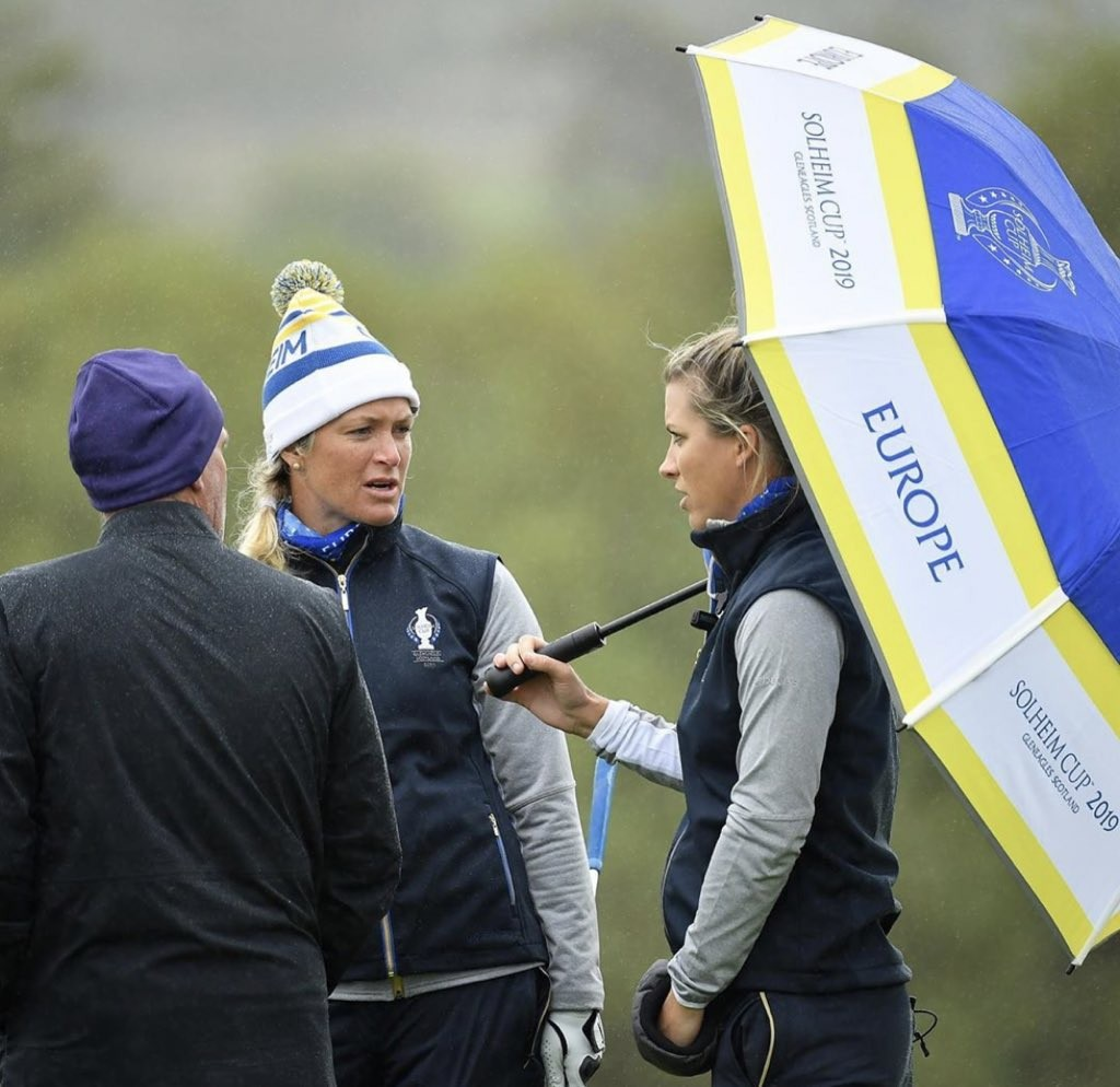 Solheim Cup Review - European Vice Captain & LPGA Tour Player Mel Reid