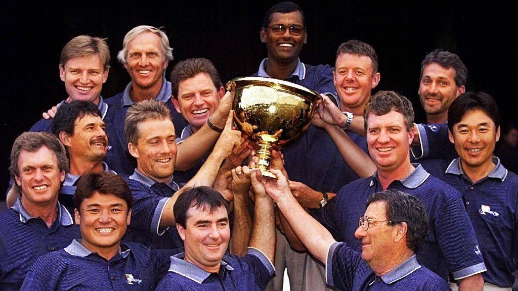 Presidents Cup - Steve Elkington & Michael Clayton