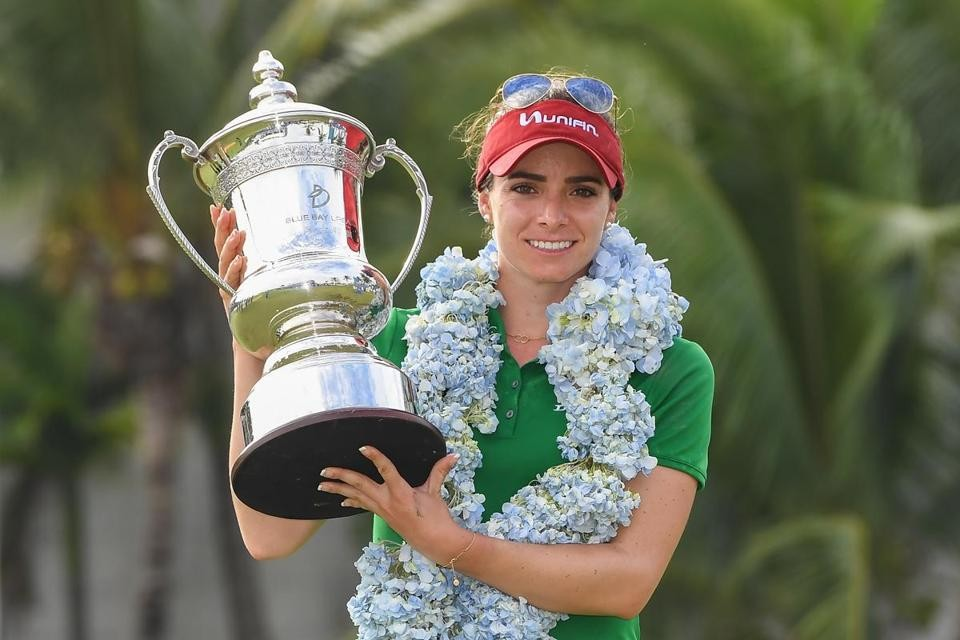 Blue Bay LPGA Champion Gaby Lopez