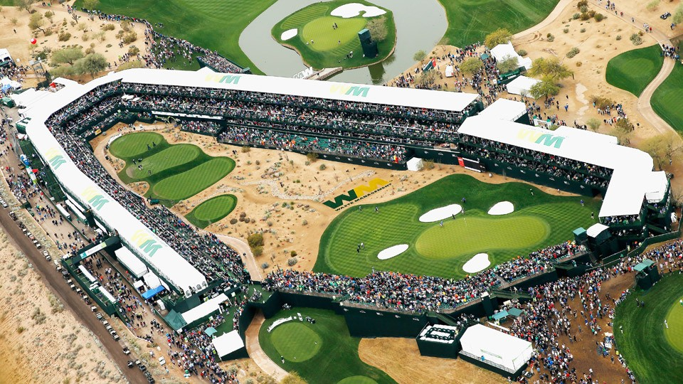 Waste Management Phoenix Open & European Tour in Saudi Arabia with Ryan Ballengee