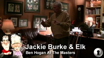 Jackie Burke and Elk Discuss Hogan At The Masters