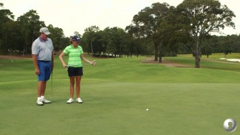 Stacy Lewis - Green Reading