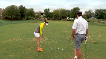 Brittany Lang - 45 Yard Pitch