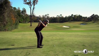 Chris Stroud - Slow Motion: 5 Iron, Down The Line View