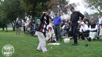 Secret In The Dirt Golf Clinic - Pasadena, CA (Part 10)