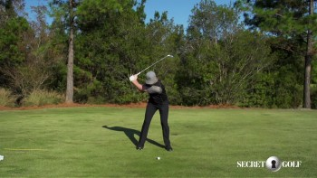 Chris Stroud - Slow Motion: 5 Iron, Caddie View