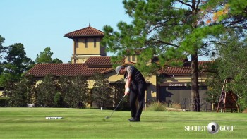 Chris Stroud - Slow Motion: 5 Iron, Over The Camera View