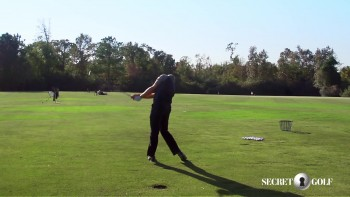 Chris Stroud - Slow Motion: 5 Iron, Rear View