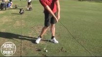 To Hit It Low, Address The Ball On The Heel