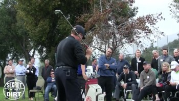Secret In The Dirt Golf Clinic - Pasadena, CA (Part 12)