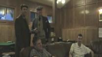Elk and Sevam1 talking to members  about Jim Barnes, Fastest greens Elk has played