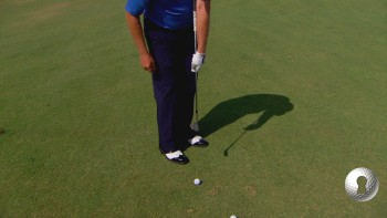 Ball Position Under Left Armpit