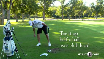 Ryan Palmer: Driver - Tee Height and Spin