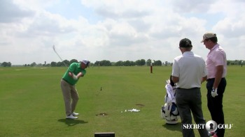 Jason Dufner & Chuck Cook: TrackMan - Working Into vs. Away From Wind