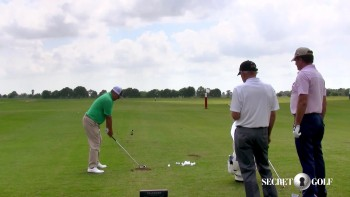 Steve Elkington, Jason Dufner & Chuck Cook: TrackMan - High & Low Shots