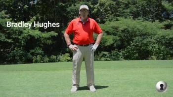 Bradley Hughes on #17 at TPC River Highlands
