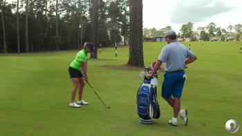 Stacy Lewis: Hitting a Draw