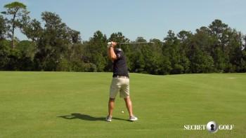 Brian Harman - Slow Motion (5 Iron, Rear View)