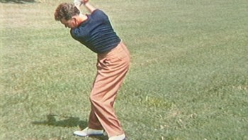 Jackie Burke - 45 Degree View, Short Iron (in color)