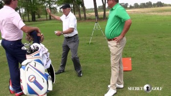 Steve Elkington, Jason Dufner & Chuck Cook: TrackMan - Weight Shift