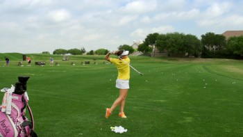 Brittany Lang - Slow Motion: 5 Iron, Caddy View