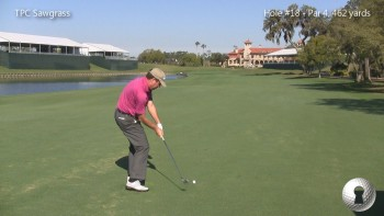 TPC Sawgrass With Steve Elkington - Hole #18 Strategy (2nd Shot)