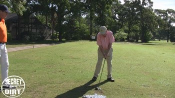 Ben Hogan - Hitting Down on Fairway Woods