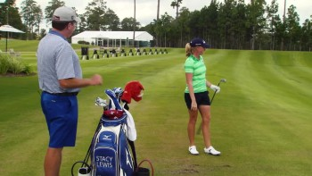 Stacy Lewis - Range Routine