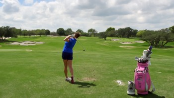 Gerina Piller: Slow Motion - 5 Iron, Down the Line