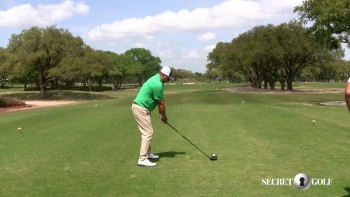 Jason Dufner & Chuck Cook - Hitting A Draw On #13 At Augusta (Part 2)