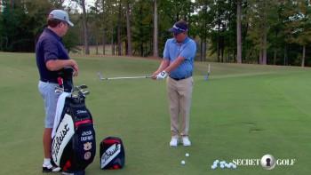 Jason Dufner: Short game - right elbow U vs V stance