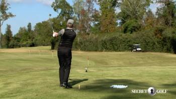 Chris Stroud - 50 Yard Wedge Shot (Speed)